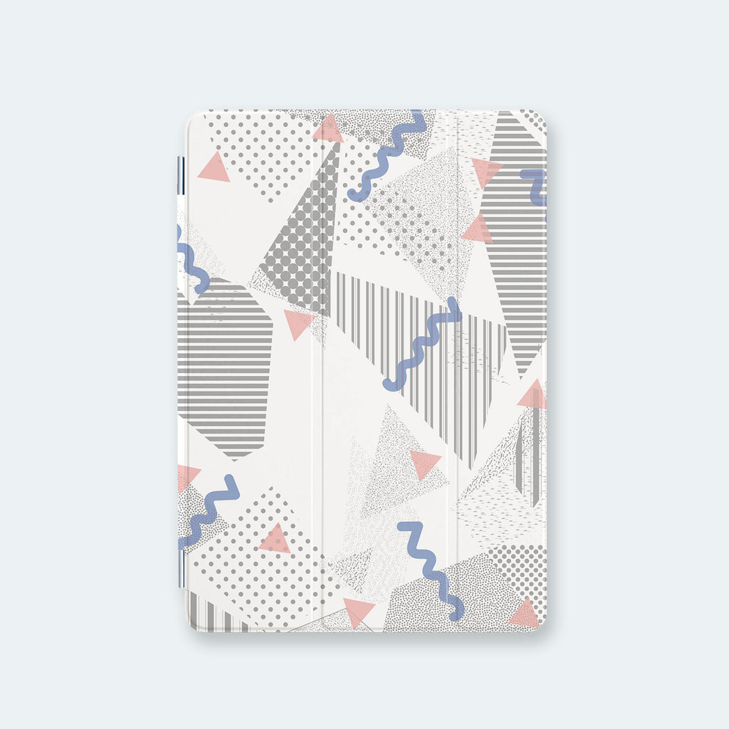iPad Case - Graffiti Grey