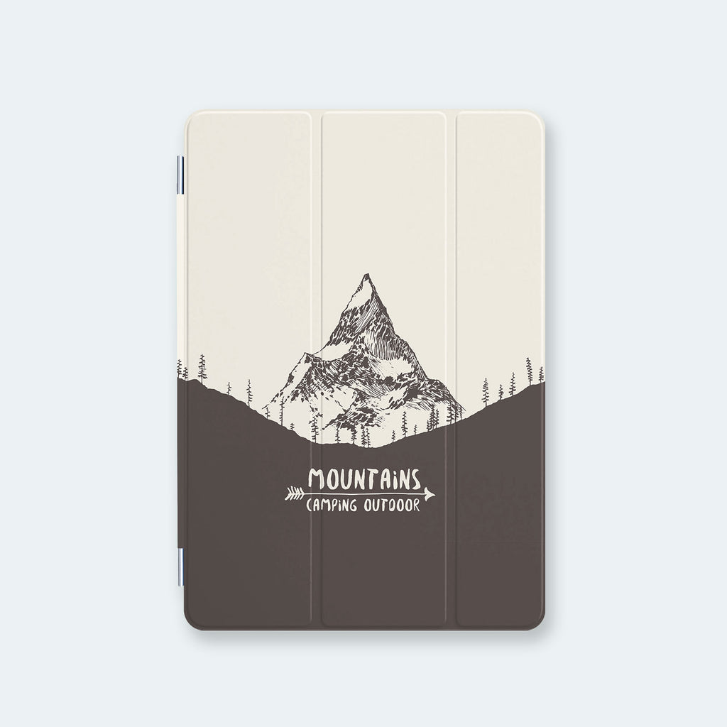 iPad Case - Nature Mountain