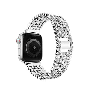 Designer Bling Band for Apple Watch - Silver