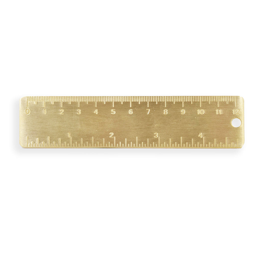 Vintage Brass Ruler