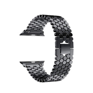 Stainless Steel Band for Apple Watch - Black
