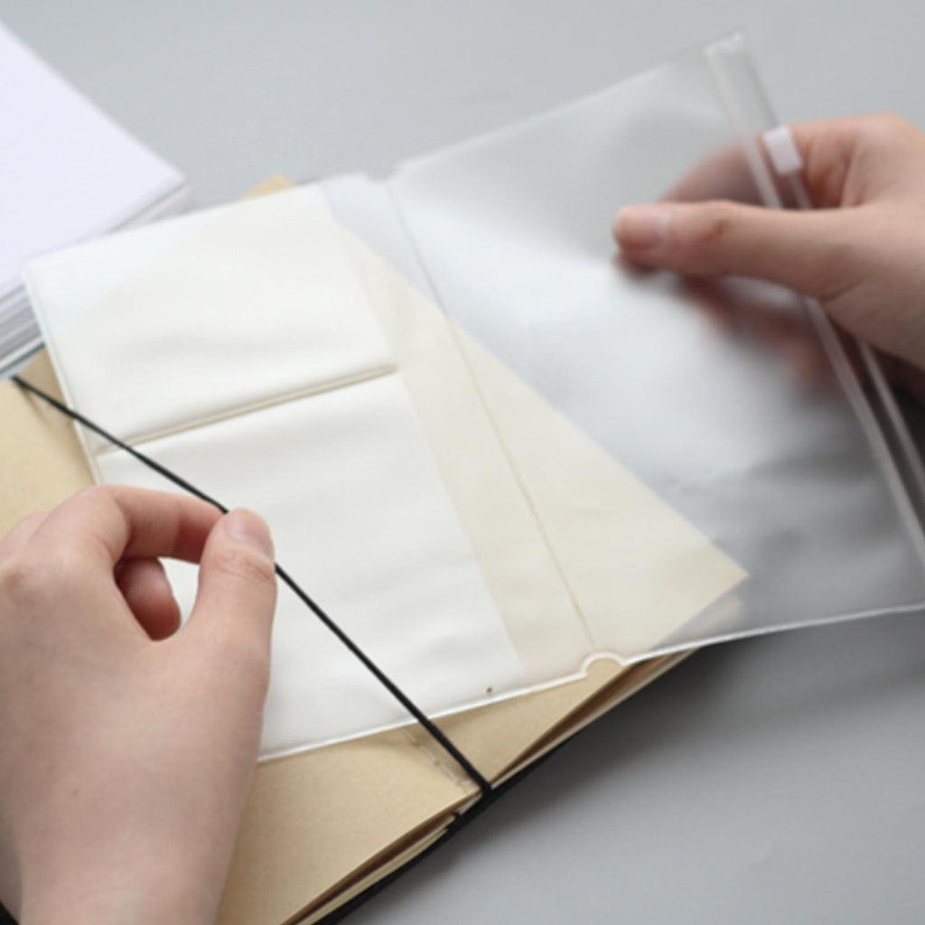 Traveler's Notebook - Transparent File Pocket