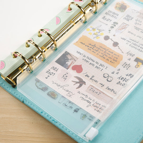 Organiser PVC Zip Pocket