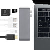 USB-C 7-in-1 Hub with 4K HDMI for Macbook