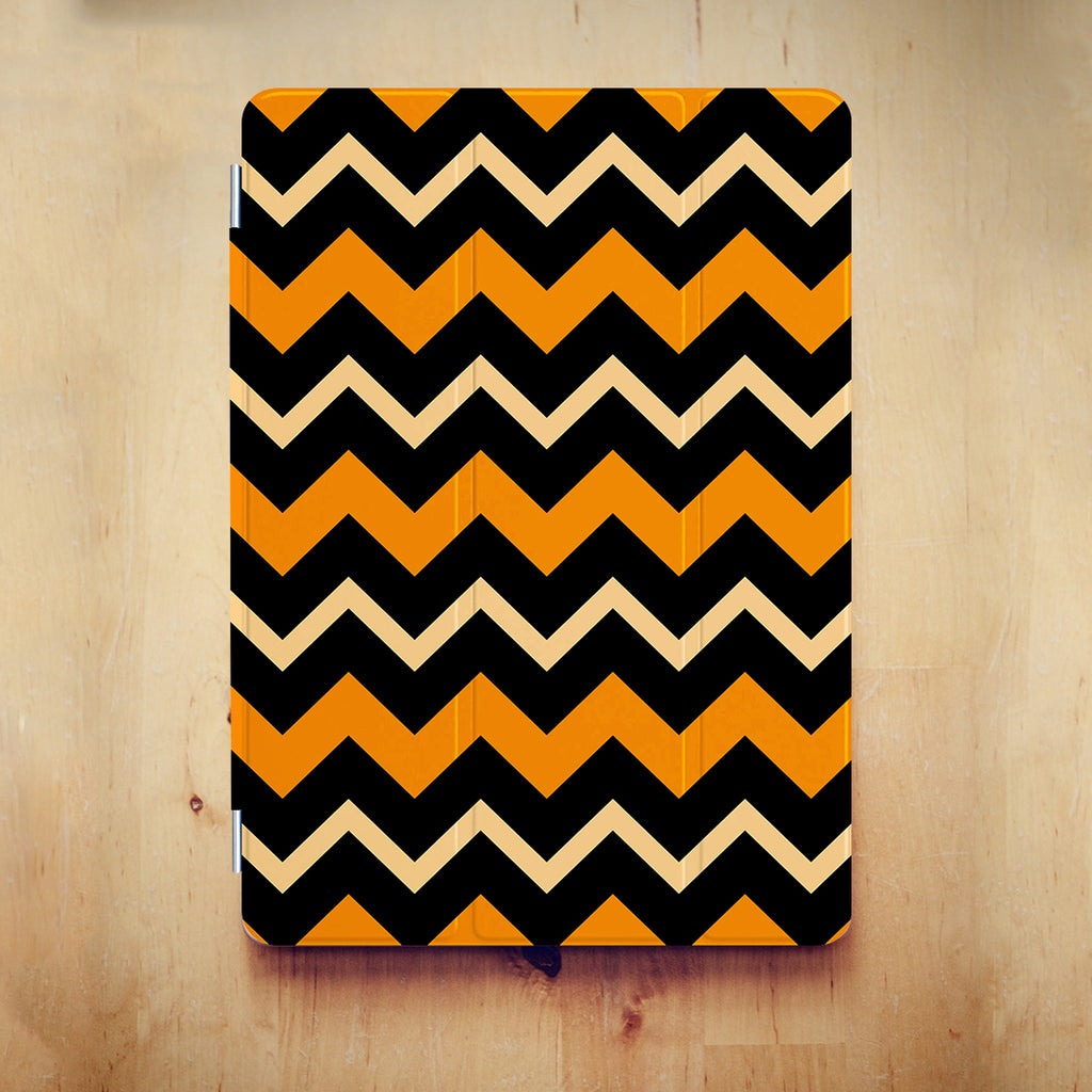 iPad Case - Halloween Orange Black
