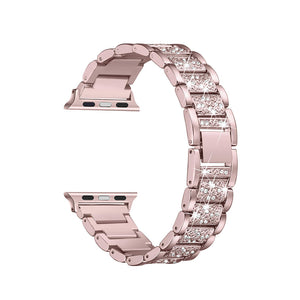 Designer Bling Band for Apple Watch - Rose Gold