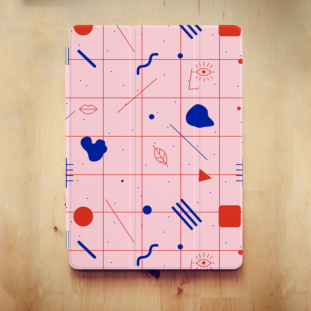 iPad Case - Graffiti Pink