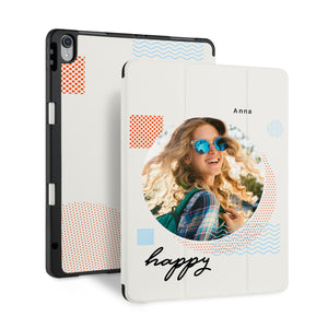 iPad Case - Happy