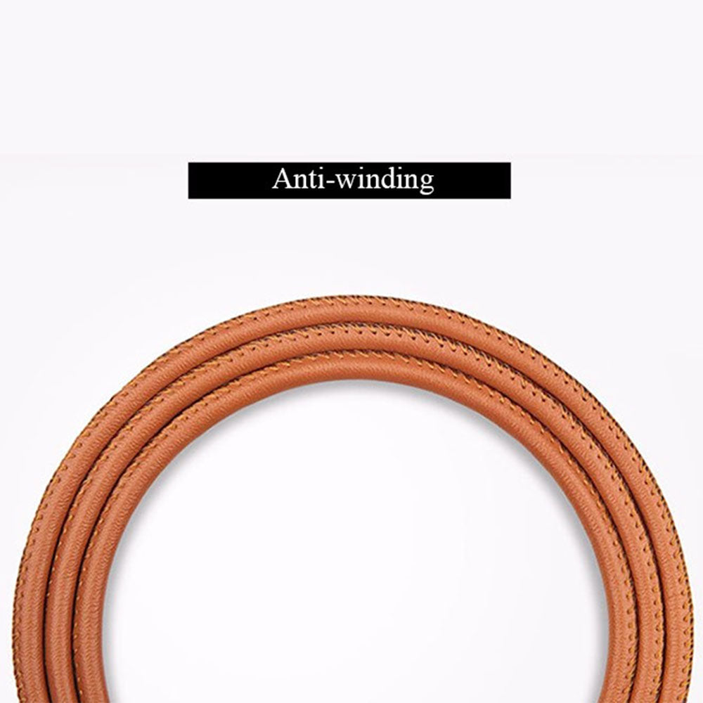 Premium Leather USB Lightning Cable
