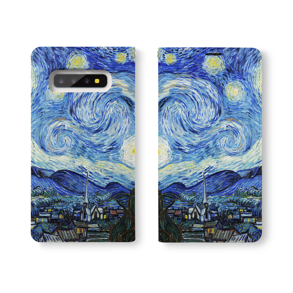 Personalized Samsung Galaxy Wallet Case with OilPainting desig marries a wallet with an Samsung case, combining two of your must-have items into one brilliant design Wallet Case.