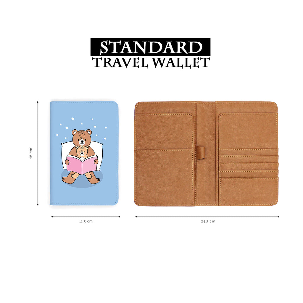 Travel Wallet - Bear Daddy