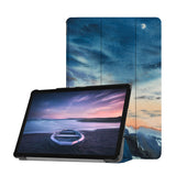 Personalized Samsung Galaxy Tab Case with Landscape design provides screen protection during transit