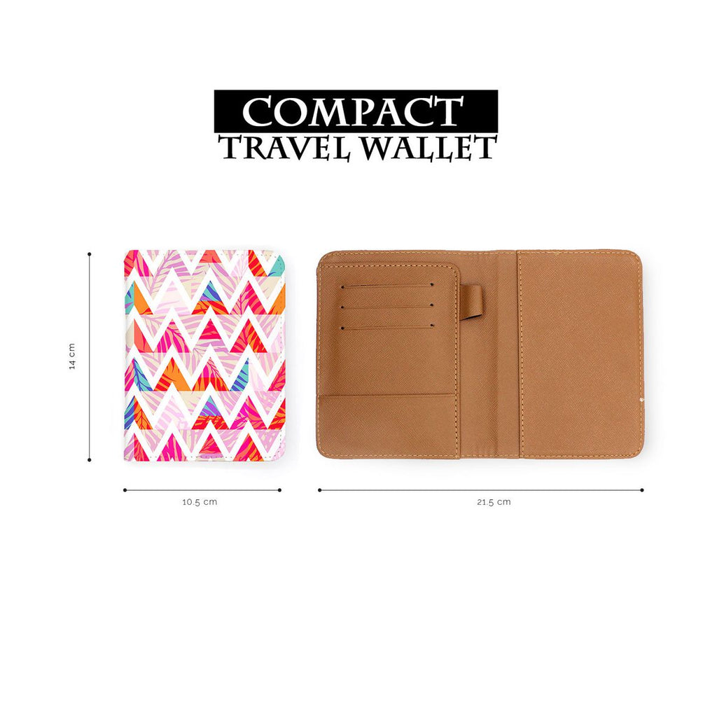 Travel Wallet - Abstract Pink