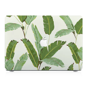 This lightweight, slim hardshell with Green Leaves design is easy to install and fits closely to protect against scratches
