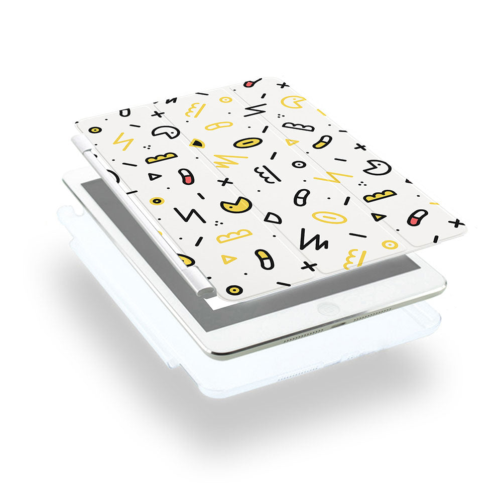 iPad Case - Graffiti Yellow