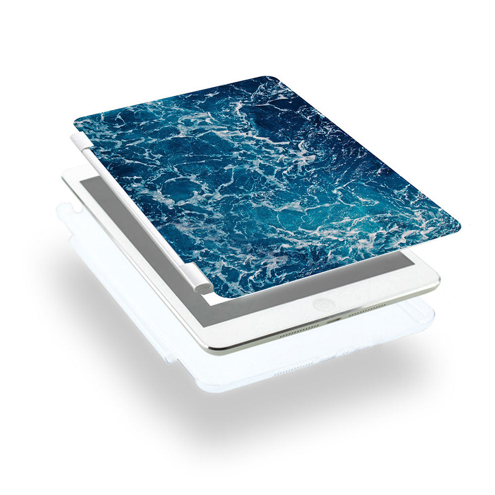 how to use ipad smart cover with personalized iPad case smart cover with ocean waves design