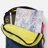 iPad SeeThru Casd with Marble Design has Secure closure