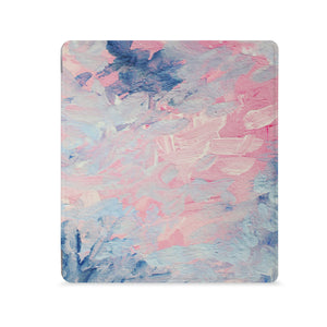 the Front View of Personalized Kindle Oasis Case with Oil Painting Abstract design - swap