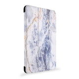 the side view of Personalized Samsung Galaxy Tab Case with Marble design