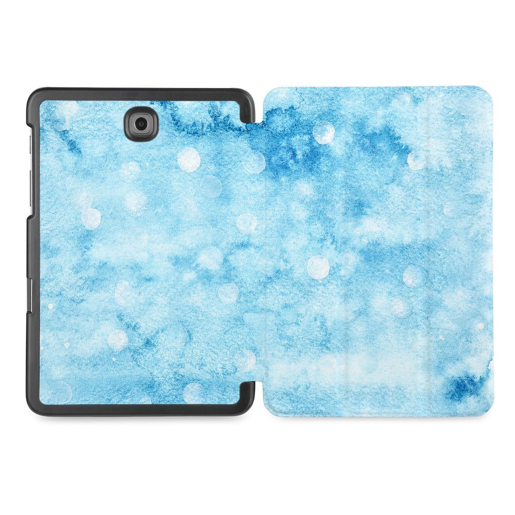 the whole printed area of Personalized Samsung Galaxy Tab Case with Winter design