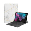 the Hero Image of Personalized Microsoft Surface Pro and Go Case with Marble 2020 design
