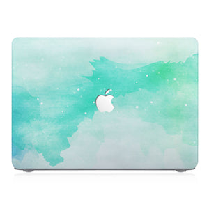 This lightweight, slim hardshell with Abstract Watercolor Splash design is easy to install and fits closely to protect against scratches