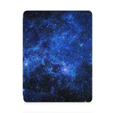 front view of personalized iPad case with pencil holder and Starry Night design