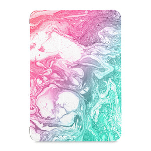 the front view of Personalized Samsung Galaxy Tab Case with Abstract Oil Painting design