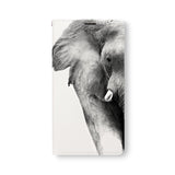 Front Side of Personalized Samsung Galaxy Wallet Case with Elephant design