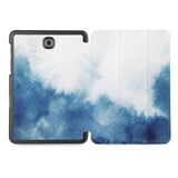 the whole printed area of Personalized Samsung Galaxy Tab Case with Abstract Ink Painting design