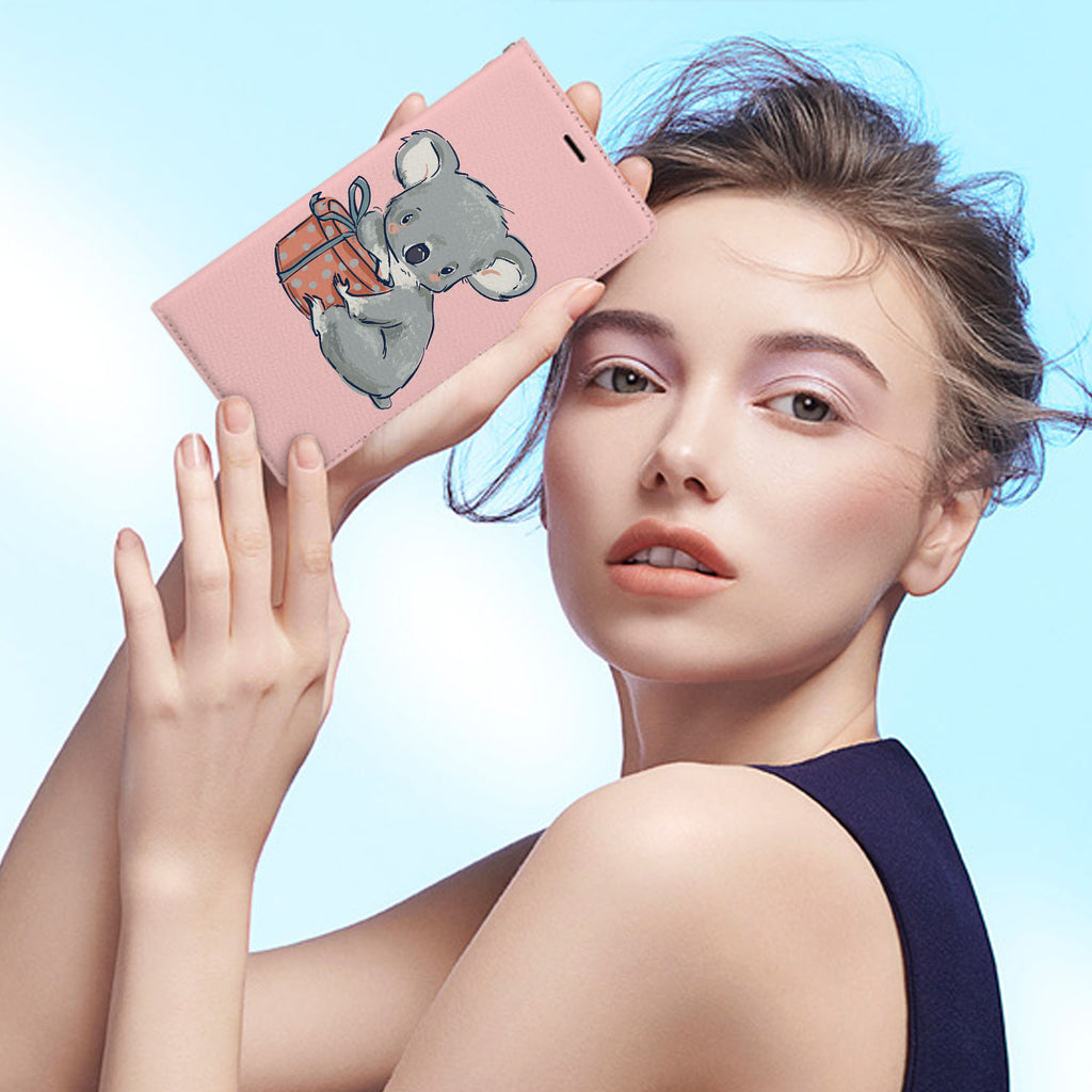 Personalized iPhone Wallet Case with Koala And Friends desig marries a wallet with an Samsung case, combining two of your must-have items into one brilliant design Wallet Case.