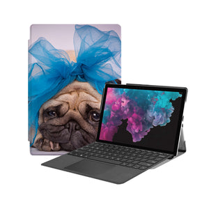the Hero Image of Personalized Microsoft Surface Pro and Go Case with Dog design