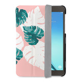 auto on off function of Personalized Samsung Galaxy Tab Case with Pink Flower 2 design - swap