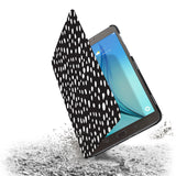 the drop protection feature of Personalized Samsung Galaxy Tab Case with Polka Dot design