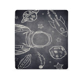 the Front View of Personalized Kindle Oasis Case with Astronaut Space design - swap