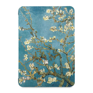 the front view of Personalized Samsung Galaxy Tab Case with Oil Painting design