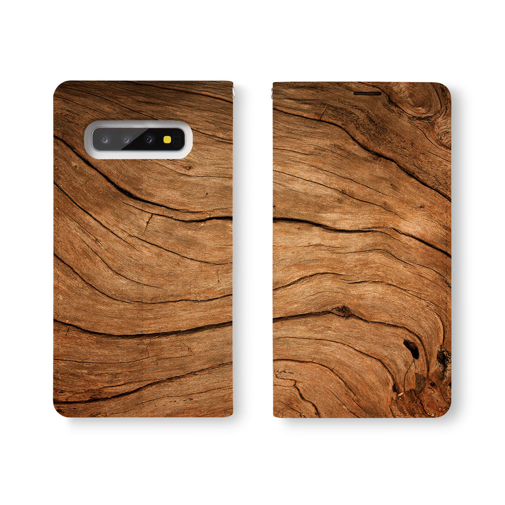 Personalized Samsung Galaxy Wallet Case with Wood desig marries a wallet with an Samsung case, combining two of your must-have items into one brilliant design Wallet Case.