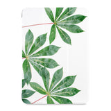 the front view of Personalized Samsung Galaxy Tab Case with Flat Flower design