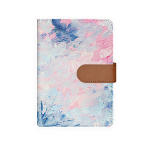 front view of personalized personal organiser with Oil Painting Abstract design