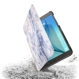 the drop protection feature of Personalized Samsung Galaxy Tab Case with Marble design