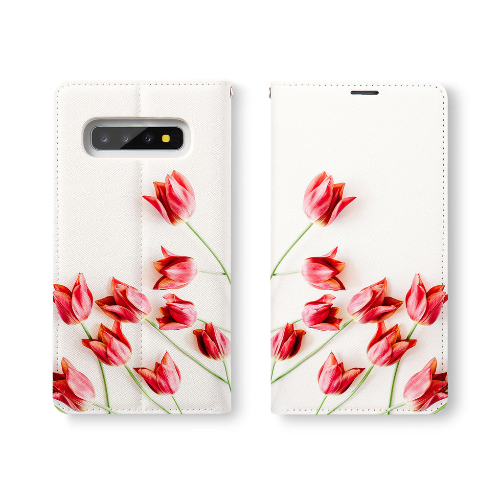 Personalized Samsung Galaxy Wallet Case with FlatFlower desig marries a wallet with an Samsung case, combining two of your must-have items into one brilliant design Wallet Case.