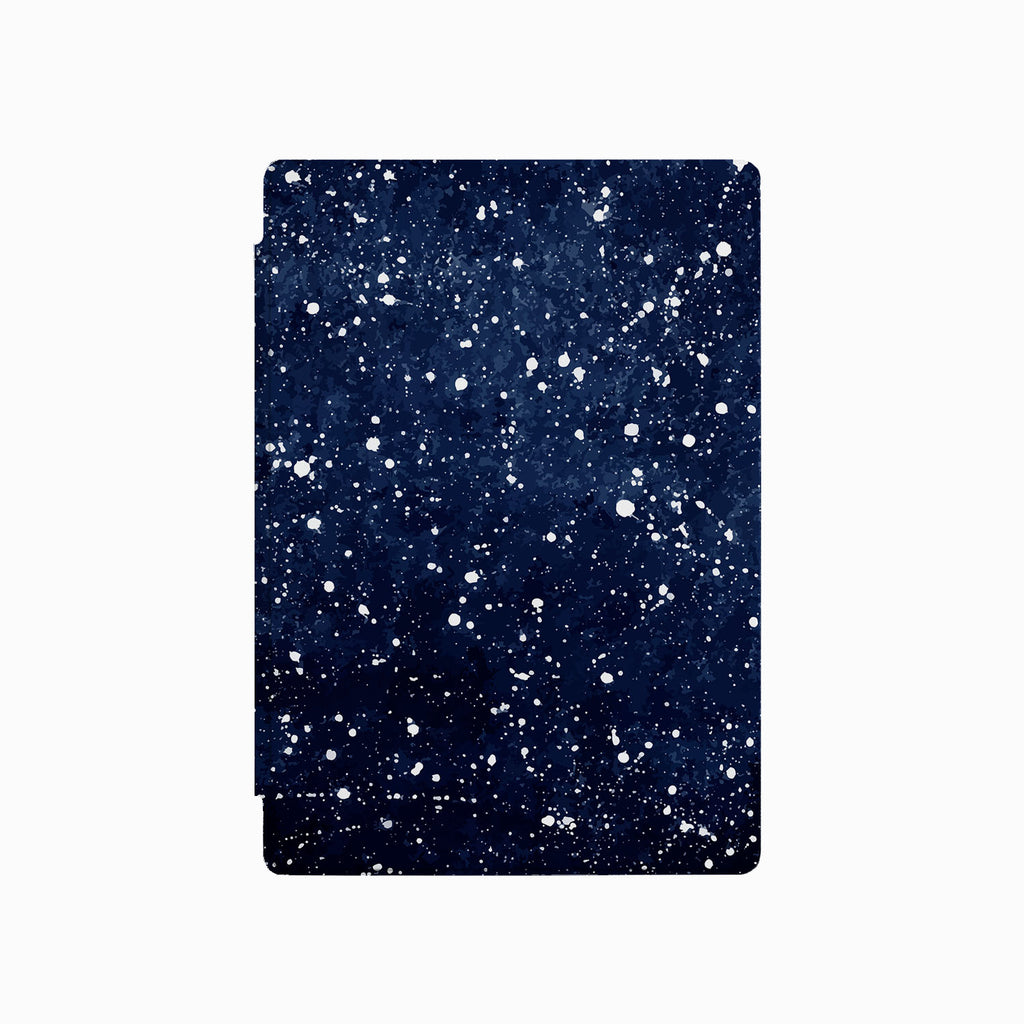 the front side of Personalized Microsoft Surface Pro and Go Case with Galaxy Universe design