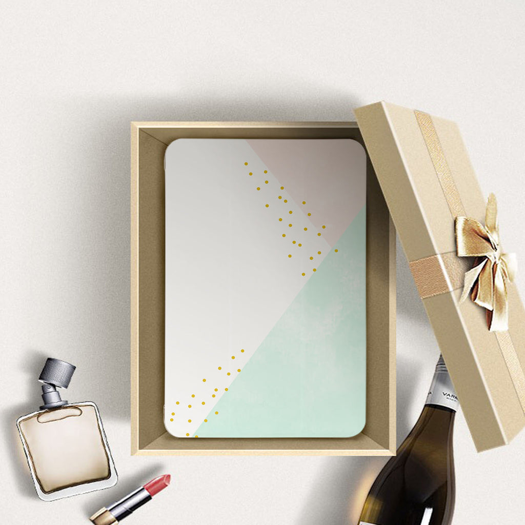 Personalized Samsung Galaxy Tab Case with Simple Scandi Luxe design in a gift box