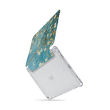 iPad SeeThru Casd with Oil Painting Design  Drop-tested by 3rd party labs to ensure 4-feet drop protection