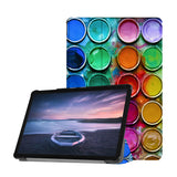 Personalized Samsung Galaxy Tab Case with Science design provides screen protection during transit