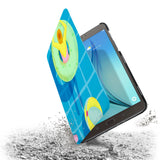the drop protection feature of Personalized Samsung Galaxy Tab Case with Beach design