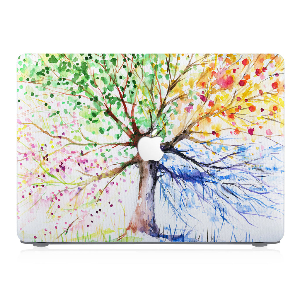 This lightweight, slim hardshell with Watercolor Flower design is easy to install and fits closely to protect against scratches