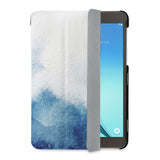 auto on off function of Personalized Samsung Galaxy Tab Case with Abstract Ink Painting design - swap