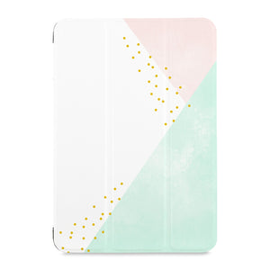 the front view of Personalized Samsung Galaxy Tab Case with Simple Scandi Luxe design