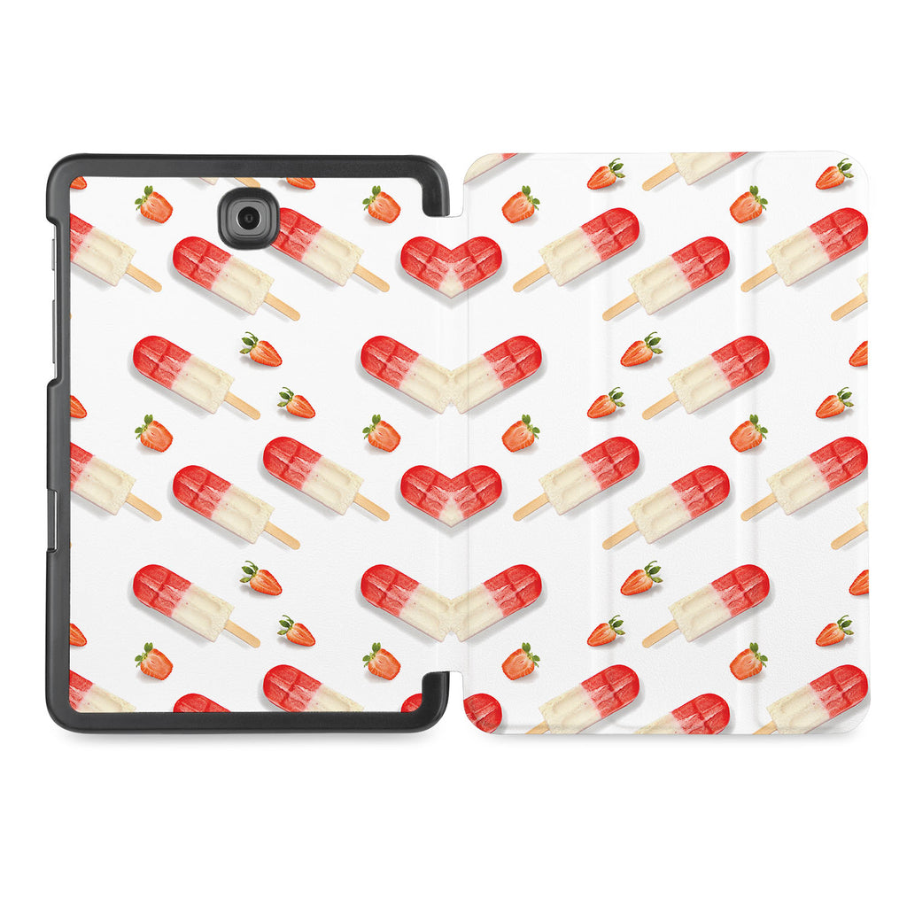the whole printed area of Personalized Samsung Galaxy Tab Case with Sweet design